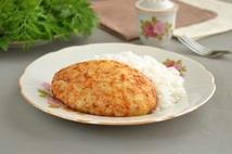 Котлеты из мяса кур с рисом (250гр.)