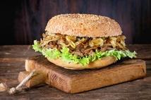 Гамбургер с мясом (220гр.)