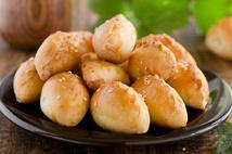 Пирожки с картофелем , грибами и луком (4шт.*50 гр.)