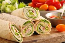 Сэндвич с ветчиной в лаваше (200 гр.)