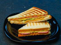 Сэндвич с ветчиной и сыром (150гр.)