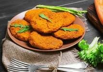 Котлеты овощные из моркови (600гр.)