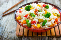 Рис с овощами 1кг.