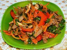 """Салат """"Хе из мяса по-корейски"""" (150 гр)"""