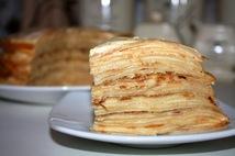 """Пирожное """"Блинный торт"""" (5шт.*120 гр.)"""