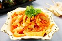 "Салат ""Кальмары с морковью по-корейски"" (150 гр)."