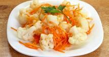 """Салат """"Цветная капуста с морковью по-корейски"""" (150 гр.)"""