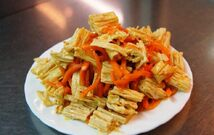 "Салат ""Спаржа с морковью"" (150 гр.)"