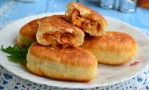 Пирожки жареные с капустой (5шт.*100 гр.)