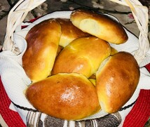 Пирожки домашние с вишневой начинкой (5шт.*55 гр.)