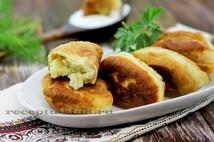 Пирожки жареные с картофелем (5шт.*100 гр.)